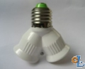 Adapter für LED Lampen E27-2E27